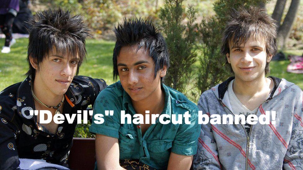 """Iran Bans """"Devil's"""" Haircut"""