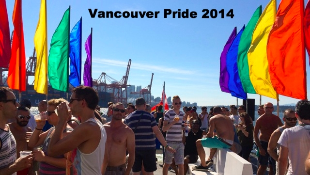 """Vancouver """"Recovery Cruise"""" Post-Pride 2014"""