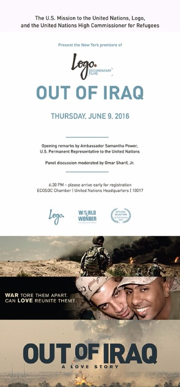 RSVP by 11am for UN event with US Ambassador Power & Logo TV
