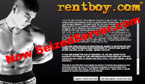 Rentboy.com Raided