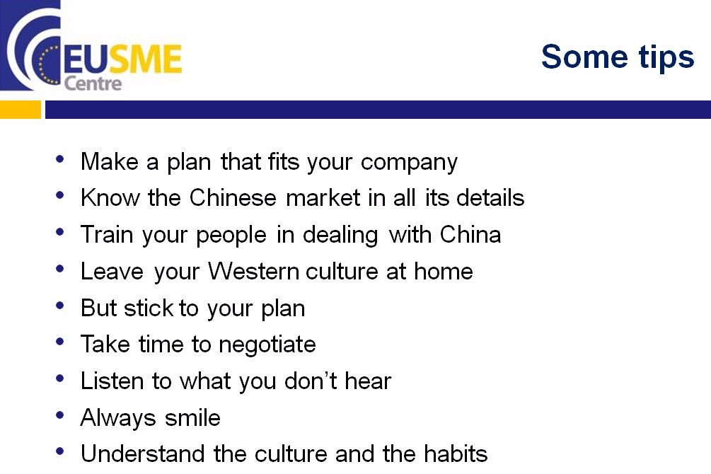 Understanding Chinese Business Culture