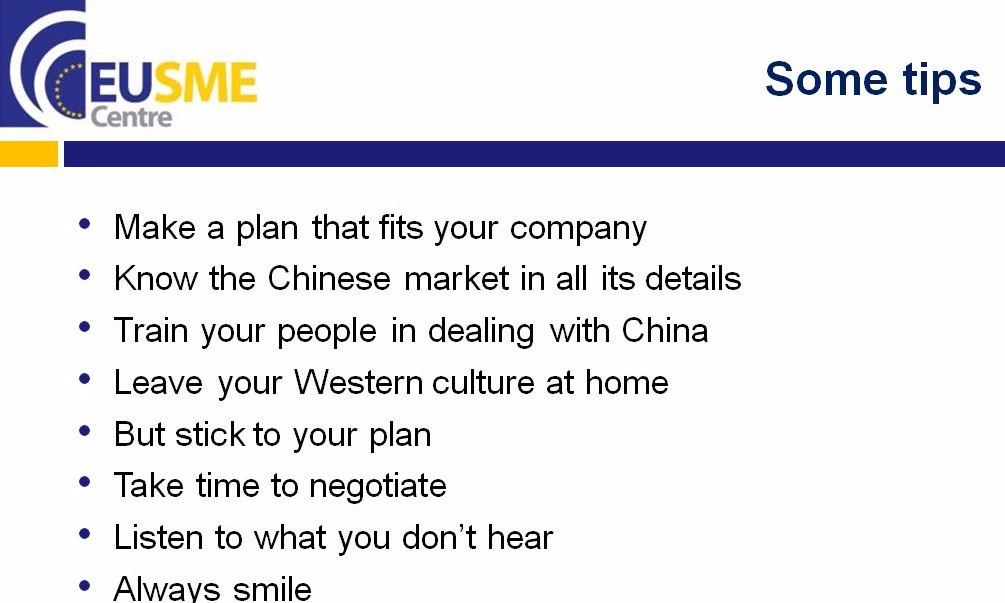 Understanding Chinese Business Culture: Making the Right Step Early on in the Market