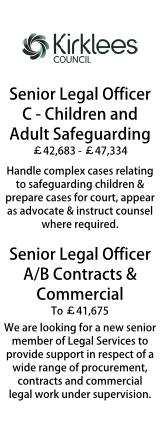Kirklees Council - Senior Legal Officers