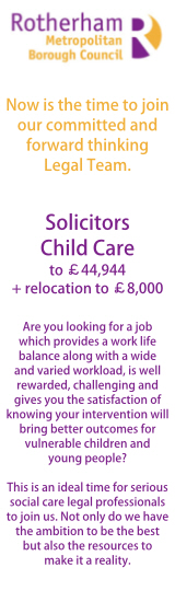 Rotherham Council - Solicitors - Child Care
