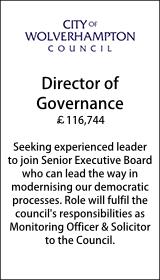 Wolverhampton Council - Director of Governance