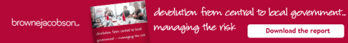 Devolution: Managing the Risk - Download the report