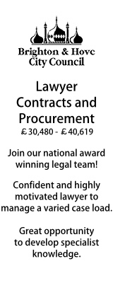 Brighton - Contracts & Procurement Lawyer