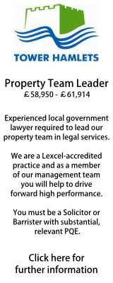 Tower Hamlets Property Team Leader