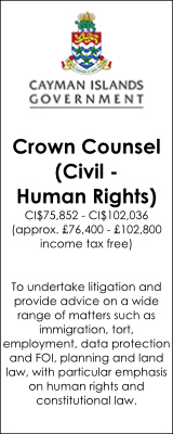 Cayman Islands Government - Crown Counsel