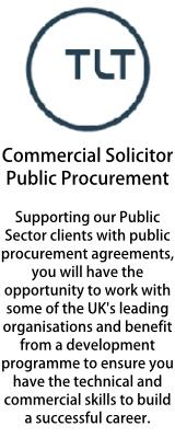 TLT - Commercial Solicitor - Public Procurement