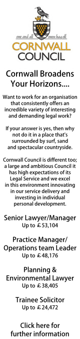 Cornwall Council - various roles