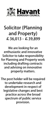 Havant - Solicitor Planning & Property