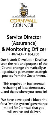 Cornwall - Service Director