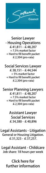 Southwark Council - various jobs