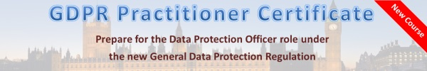 Act Now GDPR Practitioner Certificate