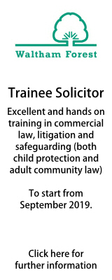 Waltham Forest - Trainee Solicitor