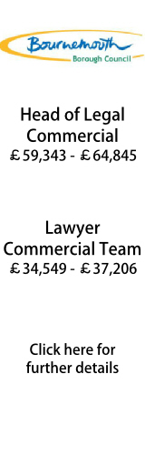 Head of Legal (Commercial) and Lawyer Commercial Team, Bournemouth BC