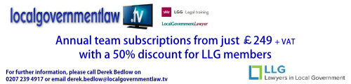 50% off Local Government Law.tv subscriptions