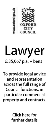 Oxford City Council Lawyer