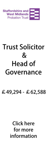 Trust Solicitor and Head of Governance