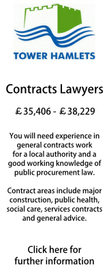 Senior Contracts Lawyer Tower Hamlets