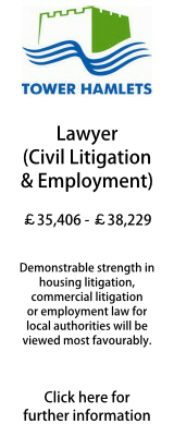 Litigation and Employment Lawyer, Tower Hamlets