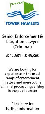 Senior Enforcement & Litigation Lawyer