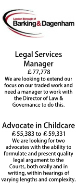 Legal Services Manager and Childcare Advocates