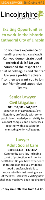 Legal Services Lincolnshire