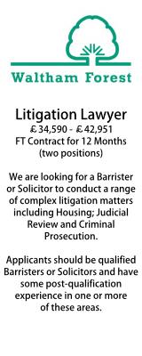 Waltham Forest Litigation Lawyer