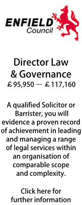 Enfield Council - Director Law & Governance