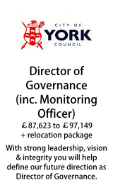 City of York Council - Director of Governance