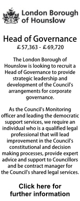 Head of Governance London Borough Hounslow