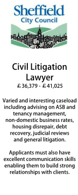 Sheffield - Civil Litigation Lawyer