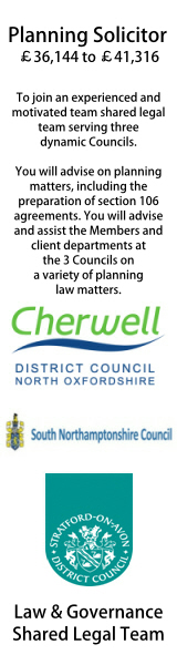 Cherwell, Sth Northamptonshire and Stratford shared service