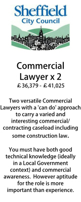 Sheffield - Commercial Lawyers x2
