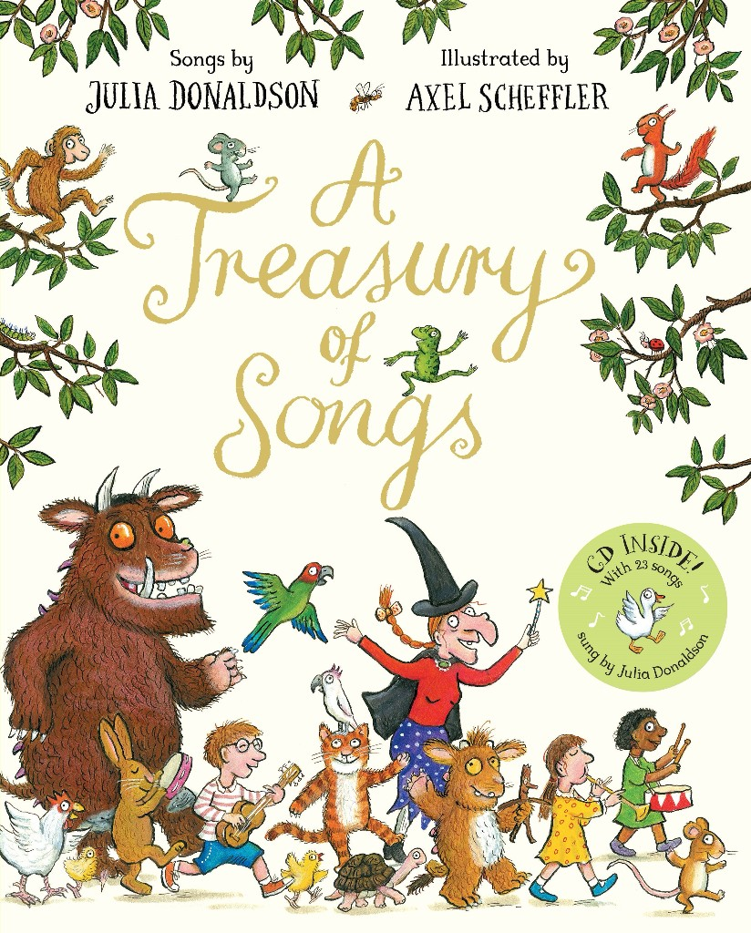 A Treasury of Songs (c) Julia Donaldson and Axel Scheffler, Macmillan Children's Books 2016