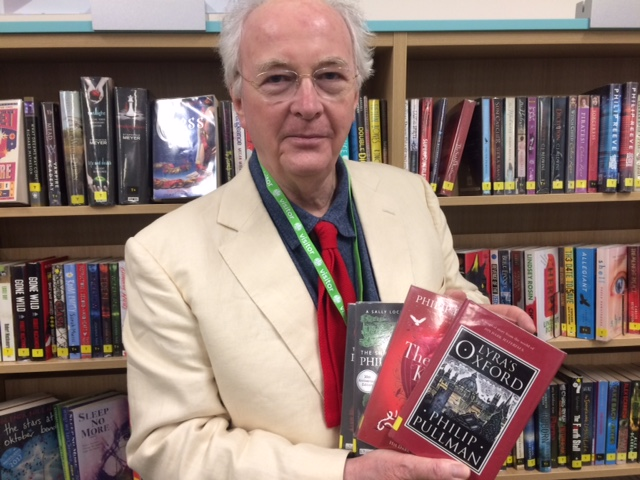 Philip Pullman in County Library