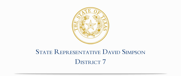 State Representative David Simpson, District 7