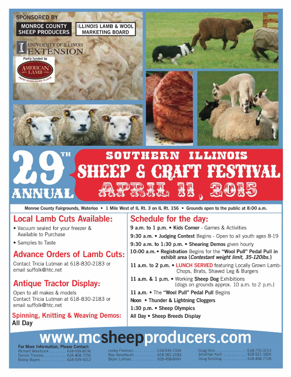 Sheep & Craft Festival April 11, 2015