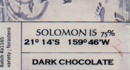 Solomon Island Chocolate