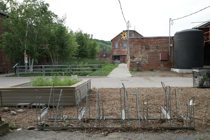 Design Challenge Site at the Brick Works - Before
