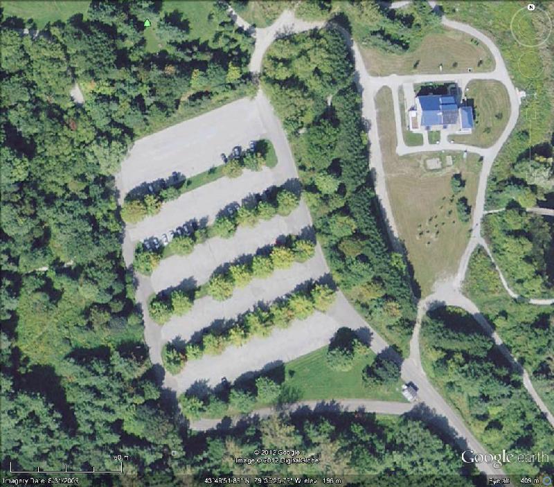 Kortright Parking Lot Aerial