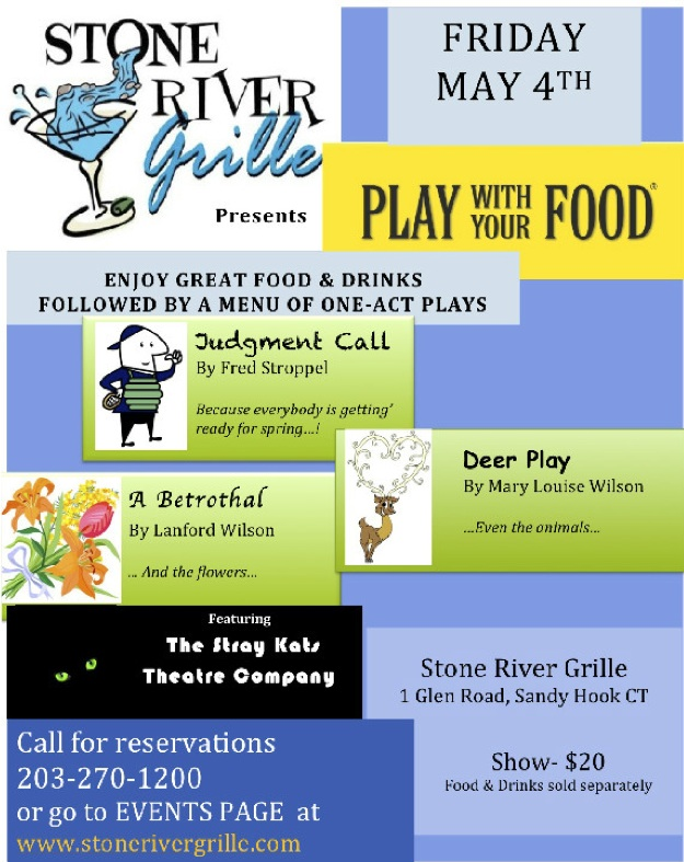 Play With Your Food at Stone River Grille; Show $20, food and drinks sold separately
