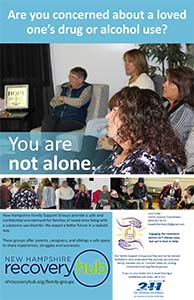 Family Recovery Support Poster