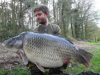 Paul Tanton with 52lb 8oz common