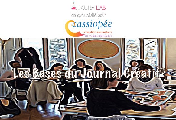 Formation Bases du Journal Créatif - Institut Cassiopée