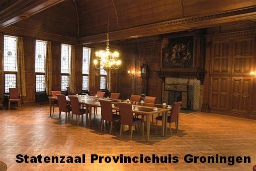 Statenzaal Provinciehuis Groningen