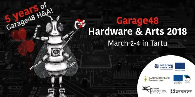 Garage48 Hardware & Arts 2018