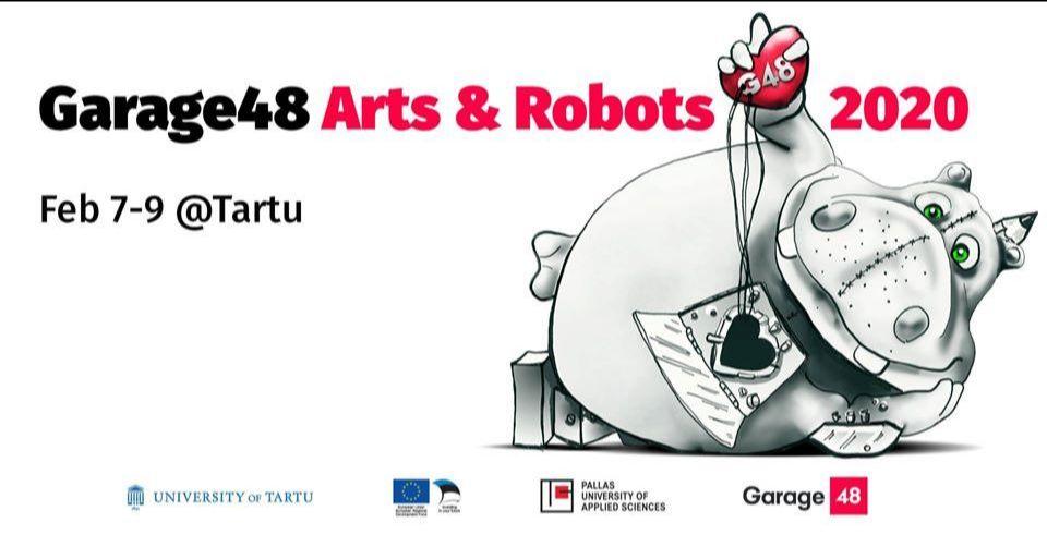Garage48 Arts & Robots 2020